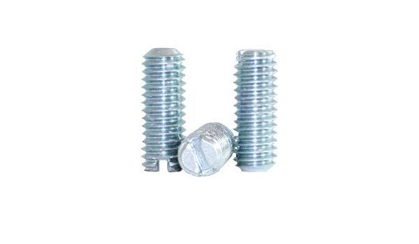 """5 x 1//4/"""" UNC Grub Socket Set Screws 1//2/"""" long Pack Set Steel Imperial HPC Gears"""