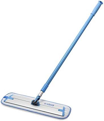 E-Cloth Deep Clean Mop ? European Microfiber Damp MopSturdy Telescoping Handle