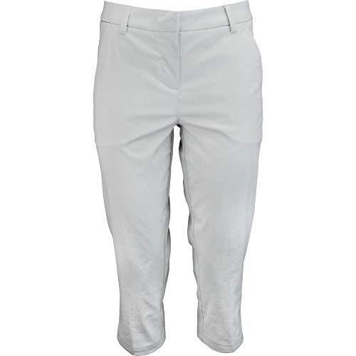 (PUMA Golf Women's Pounce Capris, Glacier Gray, Size 2)