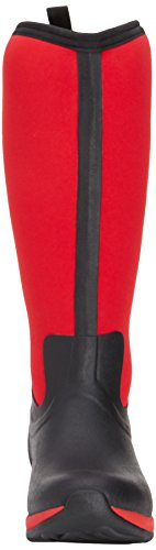 Muck Rubber Black Adventure Arctic Women's Tall Red Winter Boot Boot rqnprwI8aT
