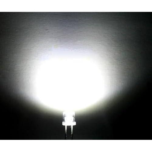 100pcs X Super Bright 5mm Flat top Wide Angle led Light l& white 120-140 deg  sc 1 st  Amazon.com & Super Bright LED: Amazon.com
