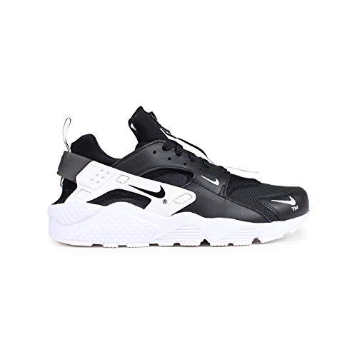 Nike Air Huarache Run Premium Zip Black/White