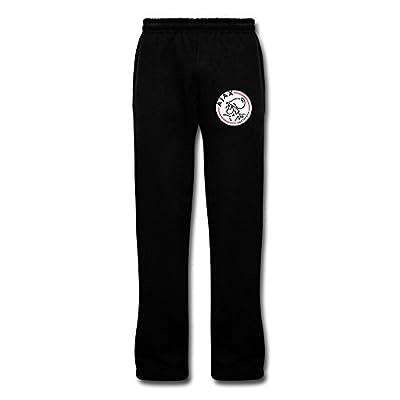 Men's Ajax Amsterdam Swag Sweatpants With Pockets Black By Rahk
