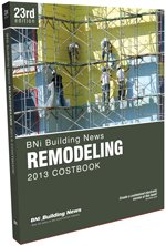 Bni Remodeling Costbook 2013