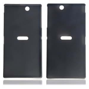 Cell Accessory 0.3 Super Slim Plastic Protective Case for Sony L39H Black