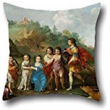 [Oil Painting Cornelis Van Poelenburgh - The Seven Children Of The Winterking Throw Pillow Case 16 X 16 Inches / 40 By 40 Cm For Wife,girls,home Office,outdoor,her,home Office With Two] (0-3 Months Baby Halloween Costumes Uk)