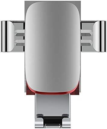 車載ホルダー 車 携帯電話 ブラケット 運行ブラケット L.P.L (Color : シルバー, Size : フリー)