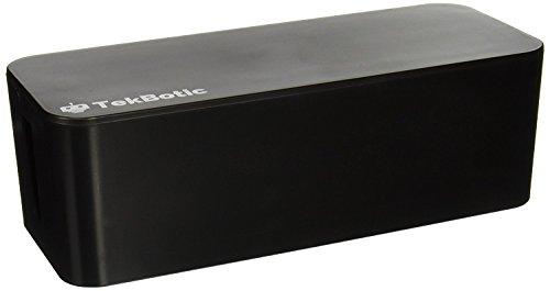 tekbotic Power Cable Organizer Box - Cable Management Box La