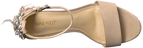 Natural Suede Sandal West Women's Nine Aaronita Suede R76SX74q