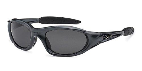 X-Loop Polarized Men's Wrap Around Sport Fishing Golf Cycling Sunglasses