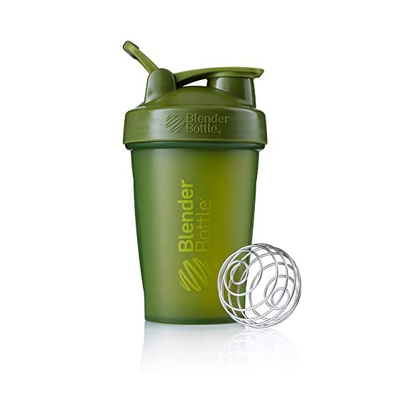 BlenderBottle-Classic-Loop-Top-Shaker-Bottle-20-Ounce-ClearBlackBlack