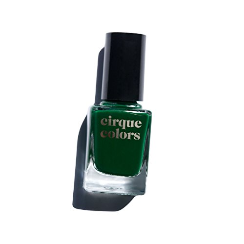 Cirque Colors Crème Nail Polish - McKittrick - Dark Forest Green - 0.37 fl. oz. (11 ml) - Vegan, Cruelty-Free, Non-Toxic Formula