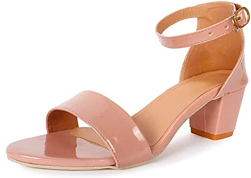 YB BAZAAR® Women's Fashion Block Heel Sandal