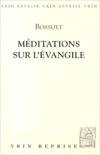 Lire Méditations sur l'évangile pdf ebook