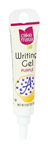 UPC 052100046426, Cake Mate Writing Gel Purple .67OZ (Pack of 6)