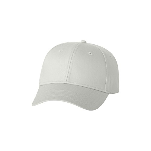 Valucap Twill - Valucap Twill Structured Cap, White