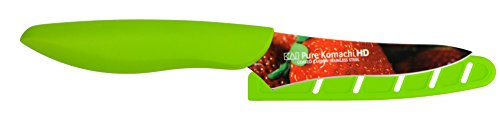 KAI USA Pure Komachi AB9077 HD Photo Berry Knife, 3.5-Inc...