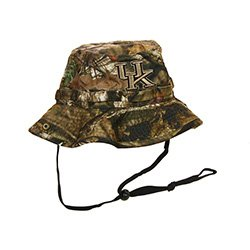 Mossy Oak University of Kentucky Woodsman Cap Bucket Hat One Size Youth