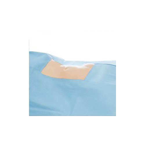 Halyard Health 79754 Universal Top Drapes, Non-Sterile, SMS Fabric, 108'' x 50'' (Pack of 120)