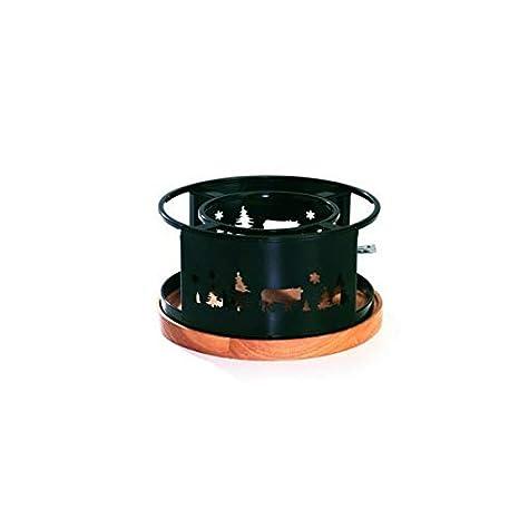 NMC - 3008209 - Hornillo de Fondue 21 cm Negro Chamonix: Amazon.es: Hogar