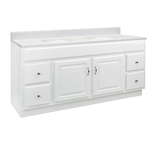 Design House 592808 Concord 2-Door 4-Drawer Cultured Marble 8