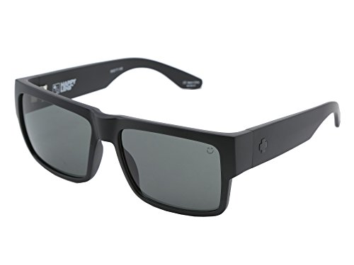 Spy Optic Cyrus Sunglasses Matte Black with Grey Green Lens ()