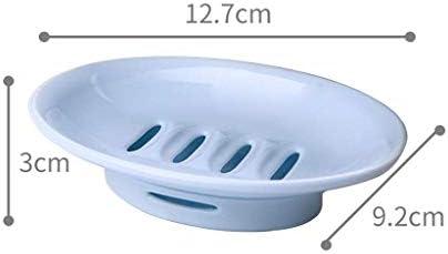 Jaboneras Caja de jabón caja de la caja del sostenedor simple drenaje de jabón jabón caja de la caja de jabón sostenedor del plato de jabón de drenaje automático de ahorro de
