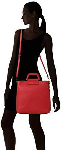 Hombro Bolso red Mujer Red Rojo De Chicca Borse 8700 xfRTCT