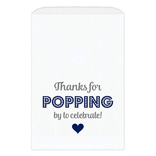 (30 Thanks for Popping by Bags - Popcorn Favor Bags)