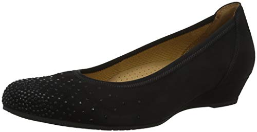 Gabor para Schwarz 47 Comfort Negro Bailarinas Mujer Sport Shoes qvxOFzrqU