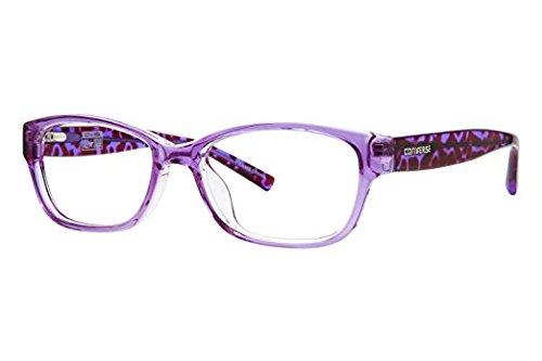 Converse Q035 Womens eyeglass Frames - Purple