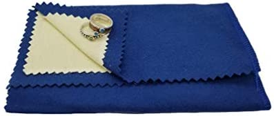 Rosenthal Collection Polishing Cloth for Silver Gold Brass Most Other Metals 12 x 15 Large