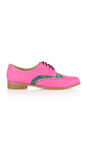 Yull Shoes Derby Shoes Brighton E17 - Women - 9 - Pink