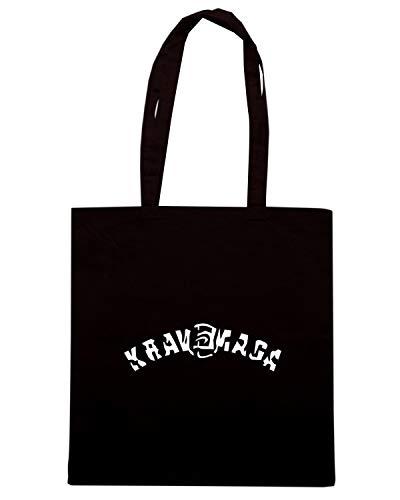 1EN Shopper Nera TBOXE0086 Shirt MAGA VEC KRAV Speed Borsa qg87WwOa