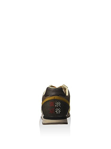Ocker Herren Leder Sneakers S5816 Lotto Gelb Leggenda RaY117U