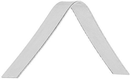 "American Metalcraft FS911 Tongs, 0.35"" Length x 1.9"" Width, Silver"