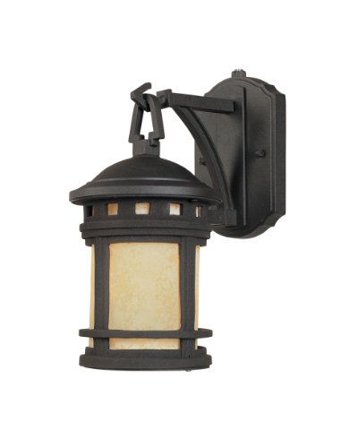 Designers Fountain ES2370-AM-ORB Sedona-ES Wall Lanterns, Oil Rubbed Bronze
