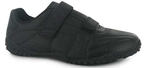 Lonsdale , Jungen Sneaker Schwarz / Schwarz