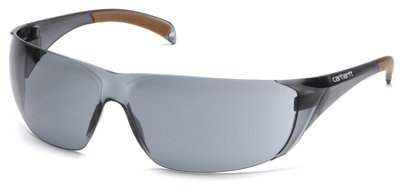 Carhartt Billings Safety Glasses, Gray Temples, Gray Lens