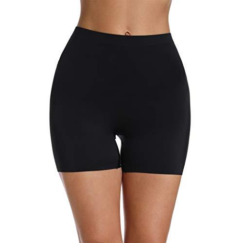 (Slip Shorts for Women Under Dresses Skirts Seamless Smooth Panties Boyshort)