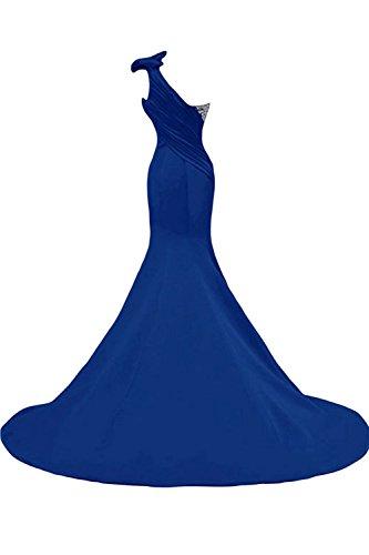 Une Robes De Bal Longue Shouler Femmes Sirène Robe De Bal Robe De Soirée Blanche Ainidress