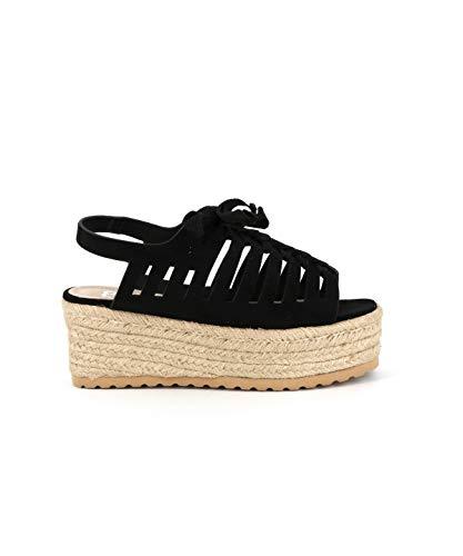 Cote Sandale Spartiate D'azur Cassis Aris Noir Ftx0hq CedrxoWB