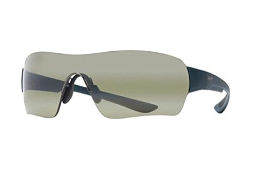 Maui Jim Unisex Night Dive Matte Aquamarine/Maui Ht One ()