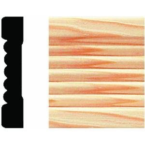 Solid Wood Fluted Casing by House of Fara