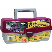 South Bend Tackle Box Including with 62 piece Tackle Kit (Kids Fishing Tackle Box compare prices)