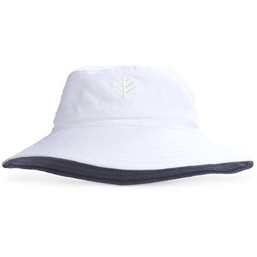d91833e2a7df8 Coolibar UPF 50+ Kids  Reversible Bucket Hat - Sun Protective ...