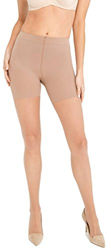 Spanx Cotton Tights - SPANX Womens Luxe Leg 20 Denier Sheers - Nude - Extra Large
