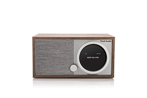 Tivoli Audio Model One Digital FM/Wi-Fi/Bluetooth Radio (Walnut/Gray) by Tivoli Audio