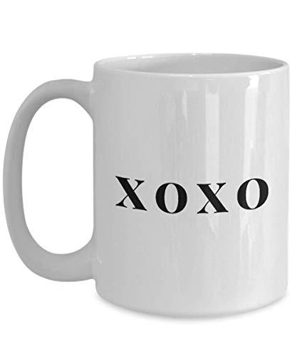 Novelty XOXO coffee mug gifts unique gift idea for women her best friends teens valentinesdaygift (Valentinesdaygifts)