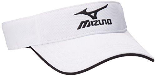 (Mizuno Branded Visor, White)